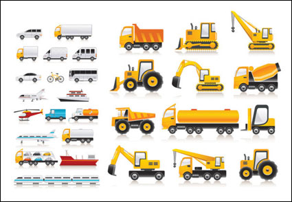 Link toVariety of  transport vector material