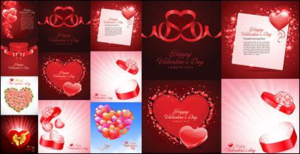 Link toBeautiful heart-shaped theme vector