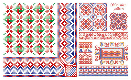 Link toVector-pixel border style pattern