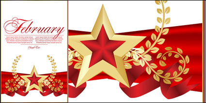 Link toRed five-pointed star bookmarks 02