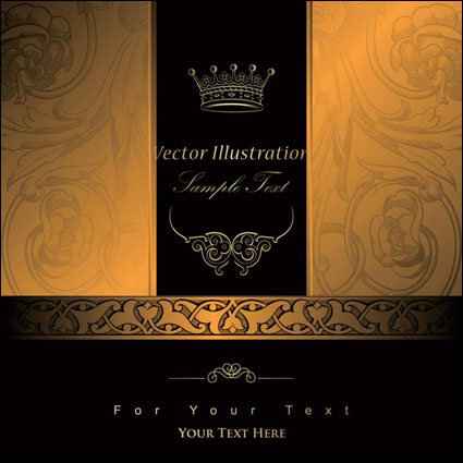 Link toBackground of ornate pattern of european classical 03