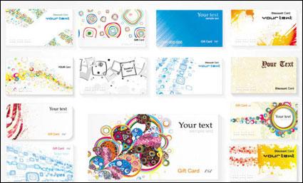 Link toCard template ii - vector