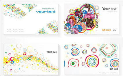 Link toCard templates - vector
