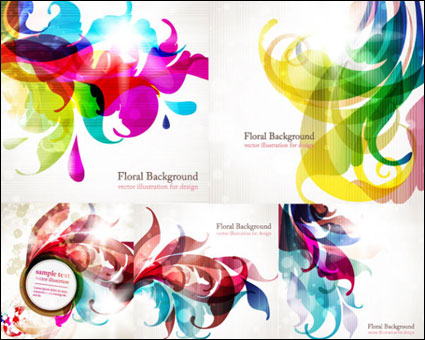 Link toColorful trend vector background