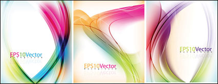 Link toColorful lines background vector dynamic