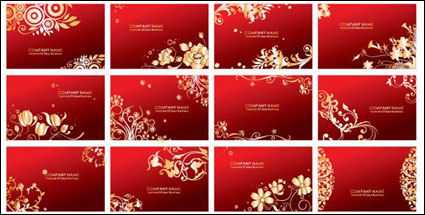 Link toRed cards vector pattern
