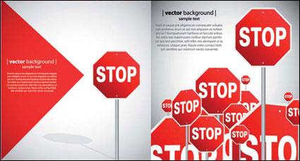 Link toBeautiful road signs - vector material