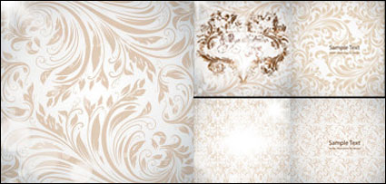 Link toGorgeous european-style pattern vector material