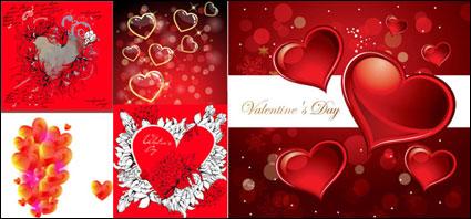 Link toRomantic heart-shaped - vector