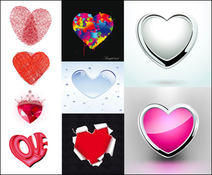 Link toValentine's creative element vector material