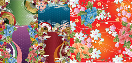 Link toJapanese wind vector background patterns