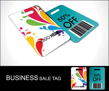 Link toDiscount sales label vector material