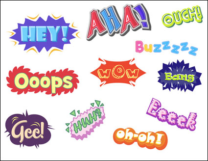 Link to{variety of graffiti text} vector