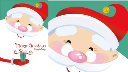 Link toLovely father christmas vector