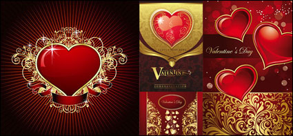 Link toGorgeous card love the pattern vector material