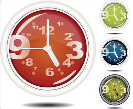 Link toSpecial  clock vector free download