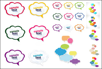 Link toColorful cute dialog vector