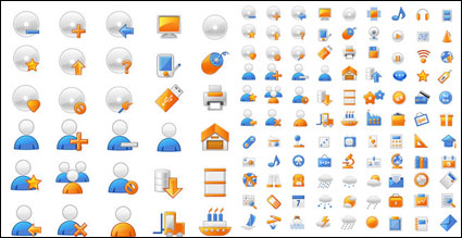 Link to+ + gray often useful material vector icons 2 + +