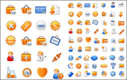 Link to+ + gray often useful material vector icons 1+ +
