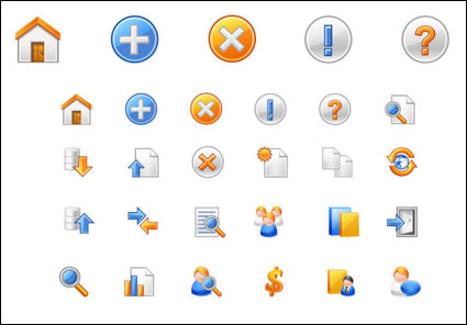 Link toCommon vector web icons - vector material