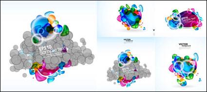 Link toBrilliant color elements - vector