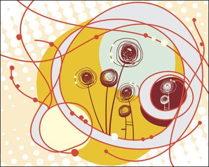 Link toBeautiful illustrations of children 04 - vector
