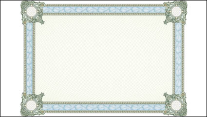 Classic security pattern border 02 - vector
