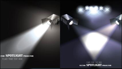Link toLight projector - vector material