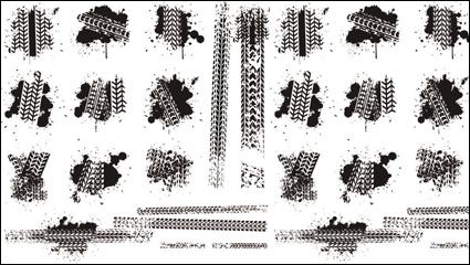 Link toTire brake printed material 01 - vector