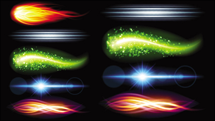 Link toGorgeous bright lighting effects 05-- vector material