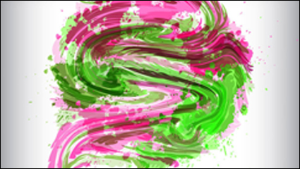 Link toThe dazzling of paint pigment pattern 02-- vector material