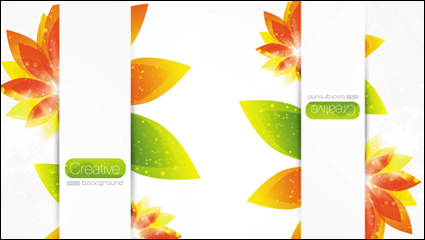 Link toBeautiful pattern petals 01 - vector material