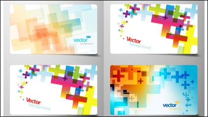 Link toBeautiful card material 03-- vector material