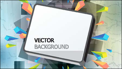 Link toGorgeous three-dimensional vector illustration background material -1
