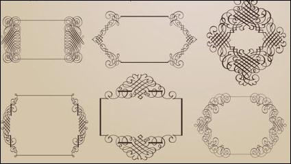 Link toExquisite decorative patterns 01 - vector