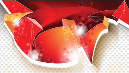 Link toThe trend of dynamic flow line gorgeous 02-- vector material