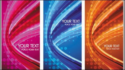 Link toBeautiful elements of the trend 03-- vector material
