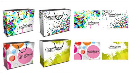 Link toFashion bag design vector material