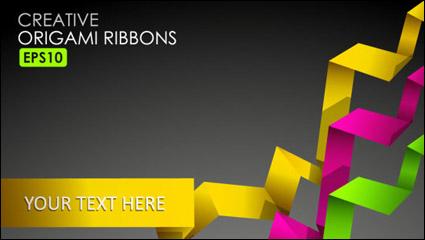 Link toBeautiful color of typesetting material 03-- vector material