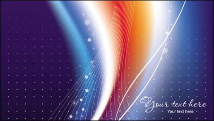 Link toBeautiful rainbow symphony 05-- vector material