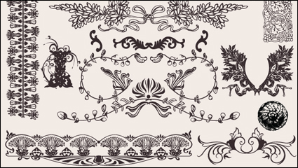 Link toEuropean background pattern material 05 - vector