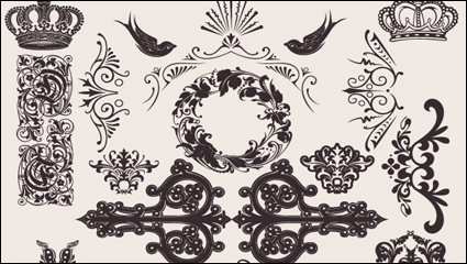 Link toEuropean background pattern material 04 - vector