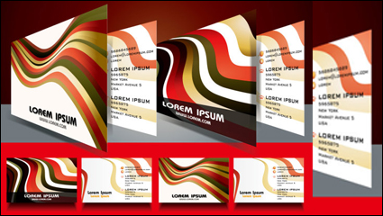 Link toBeautiful card material 03 - vector