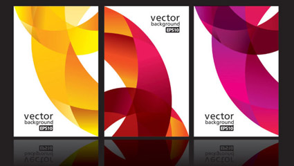 Link toDynamic ribbon card 03 - vector