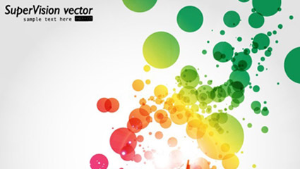 Link toSymphony of dynamic light background vector -4
