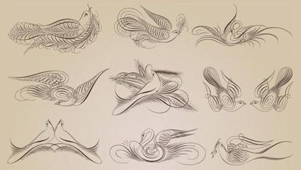 Link toExquisite decorative pattern 05 - vector