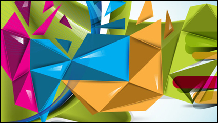 Link toBeautifully colorful background 01 - vector