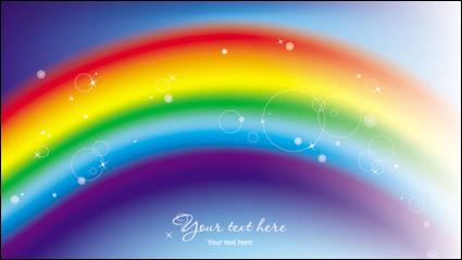 Link toBeautiful rainbow symphony 02 - vector