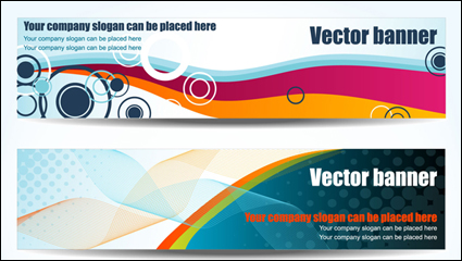 Link toColorful geometric banner vector background -2