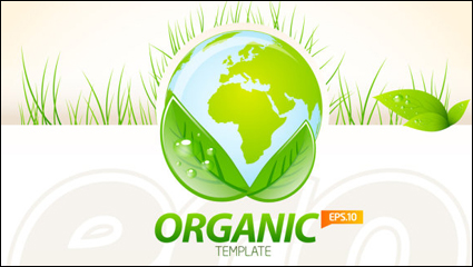Link toEnvironmentally friendly material layout design 04 - vector